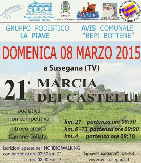 Marcia dei castelli 2015