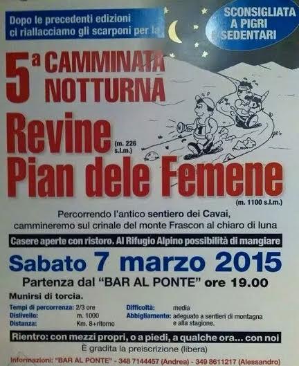 notturna revine 2015
