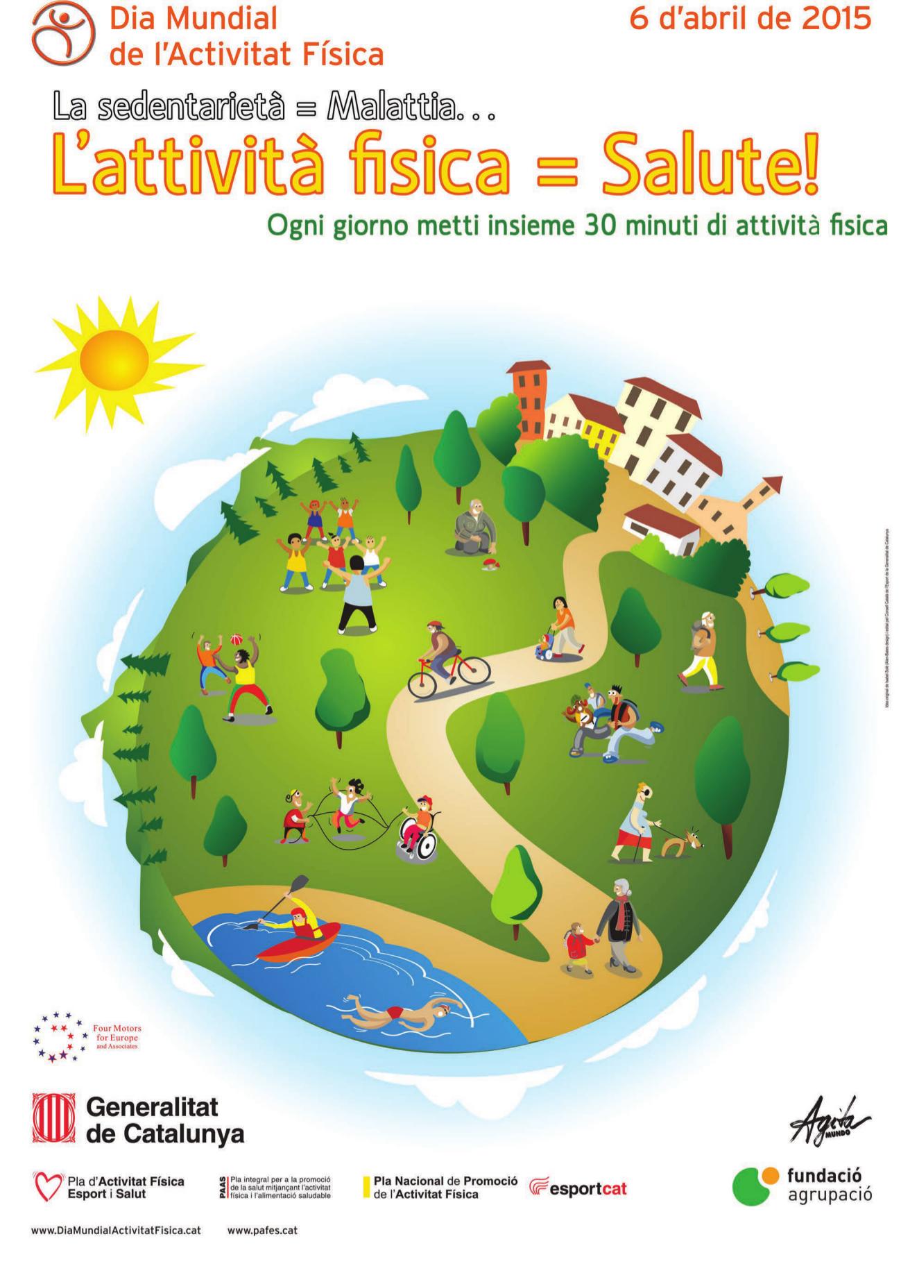 giornata mondiale attività fisica