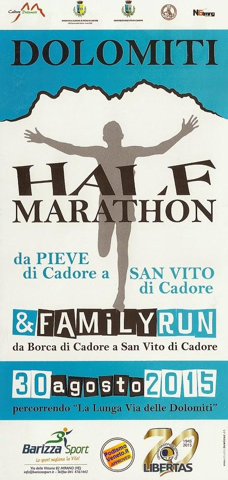 dolomiti half marathon 2015