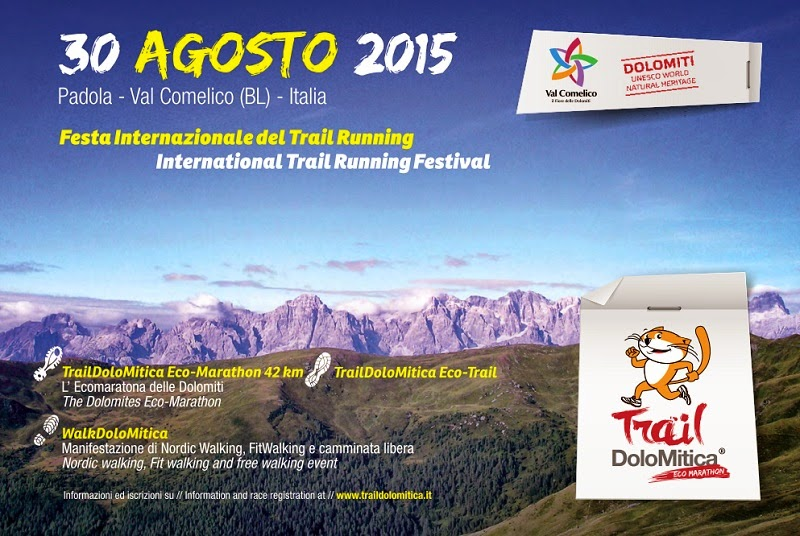 trail dolomitica 2015