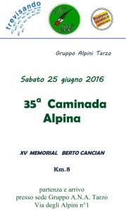 caminada alpina