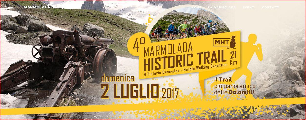 marmolada historic trail