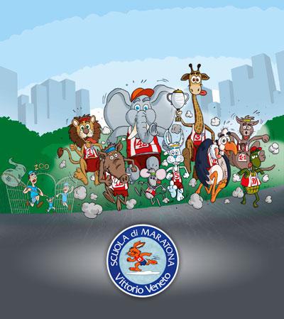 scuola-maratona-animali-e-logo